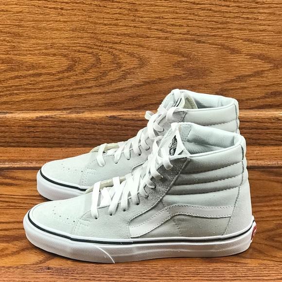 63e6d4dad7 Vans Sk8 Hi Ice Flow True White Shoes